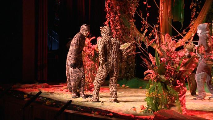 Teatro Infantil peça 'O Bello e as feras' (Foto: Divulgação / TV Gazeta ES)