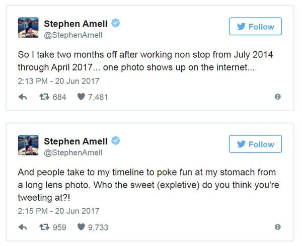 Stephen responde às piadas (Foto: Reprodução instagram)