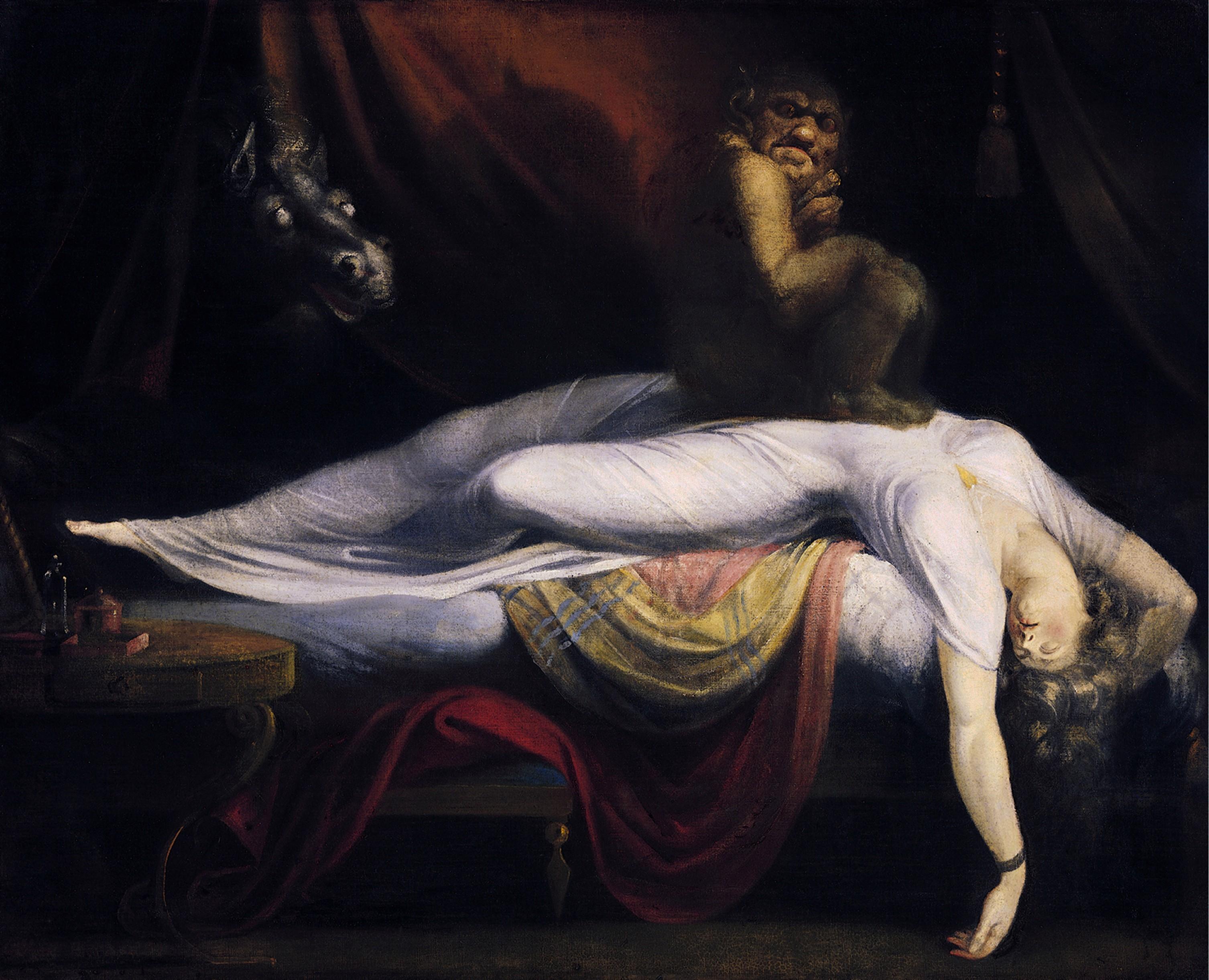 """""""O pesadelo"""" de John Henry Fuseli (Foto: wikimedia commons)"""