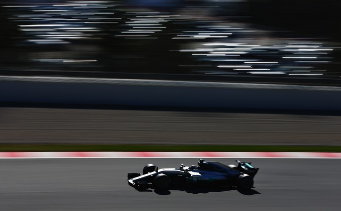 Valtteri Bottas testes pre-temporada (Foto: Getty Images)