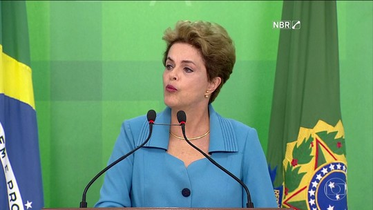 Dilma se diz injustiçada, mas promete continuar lutando
