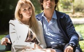 Isabelle Drummond e Dudu Azevedo gravam cenas no Jardim Botânico, no Rio
