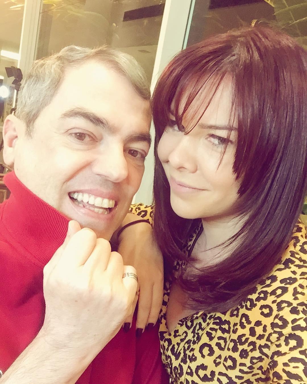 Fernanda e Biaggi (Foto: Reprodução/Instagram)