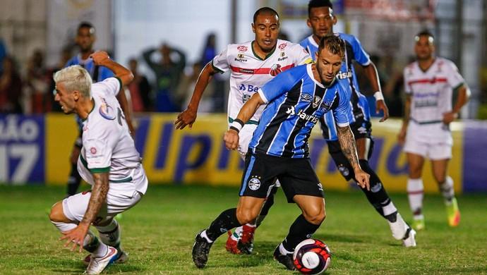 Gastón Fernández São Paulo-RS x Grêmio (Foto: Lucas Uebel/Divulgação Grêmio)