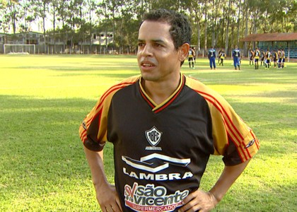 Jobinho atacante Rio Branco-SP Tigre Americana (Foto: Márcio de Campos / EPTV)