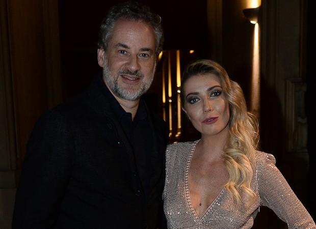 Dan Stulbach e Luiza Possi (Foto: Francisco Cepeda/AgNews)