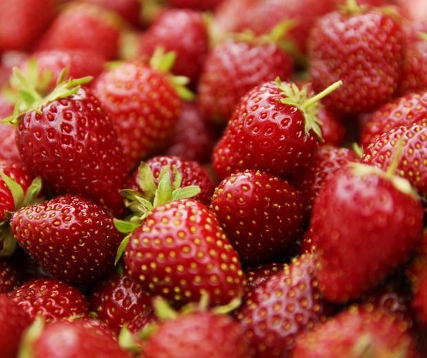 Sobremesa com morangos deliciosa para as crianças (Foto: Thinkstock)