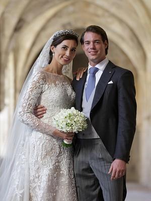 O príncipe Felix de Luxemburgo e Claire Lademacher  (Foto: Reprodução )