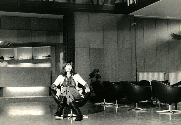 Retrato de Marina Abramovic, 1972, de Marina Abramovic, Student Cultural Centre, Belgrado (Foto: The Marina Abramovic Archives)