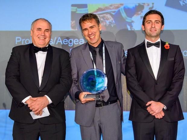 """Wagner Carvalho, gestor de projetos, recebeu o Prêmio Internacional """"Be Inspired Awards"""" 2015 (Foto: Bentley Systems)"""