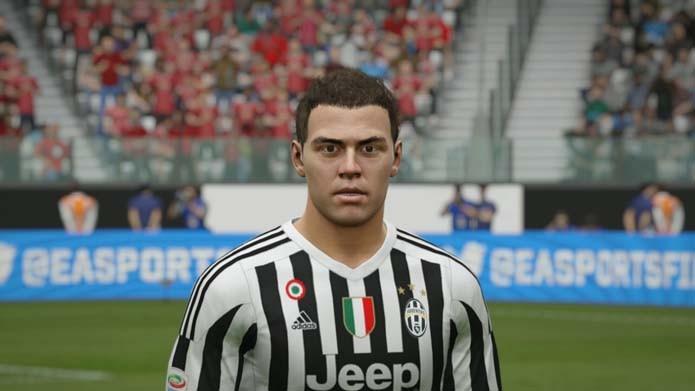 Experiente, Hernanes não tem personagem caprichado em Fifa 16 (Foto: Reprodução/Murilo Molina)