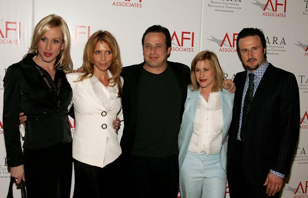 Alexis, Rosanna, Richmond, Patricia e David Arquette (Foto: Divulgao)