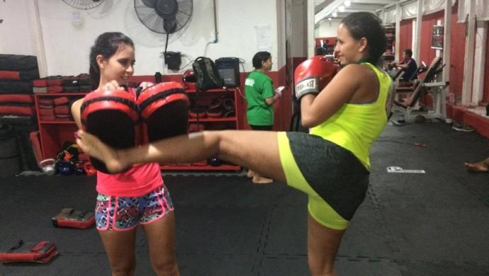 muay thai, treino, academia (Foto: Patrícia Moreira/Divulgação)