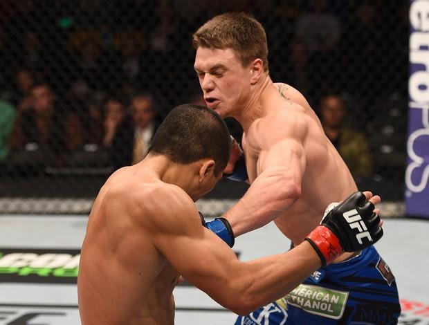Chris Wade x Zhang Lipeng, UFC (Foto: Getty Images)