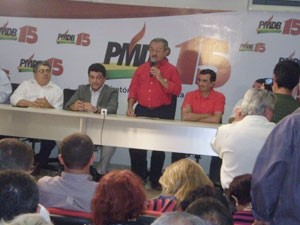José Maranhão é lançado como pré-candidato em Joao Pessoa (Foto: Divulgação/PMDB)