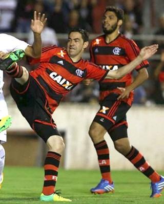 Chicão São Paulo e Flamengo (Foto: Rubens Chiri / saopaulofc.net)