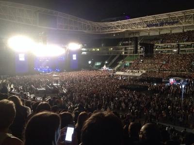 Show de Paul McCartney no Allianz Parque (Foto: Felipe Zito)
