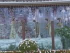 Casa com decoração de Natal vira atração turística em Rio Pardo, SP