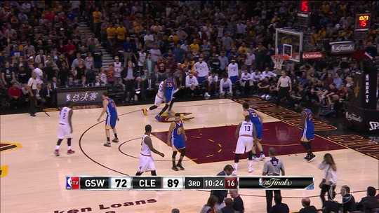 Chance de festa dos Warriors na casa dos Cavs motivou LeBron, Irving & Cia.