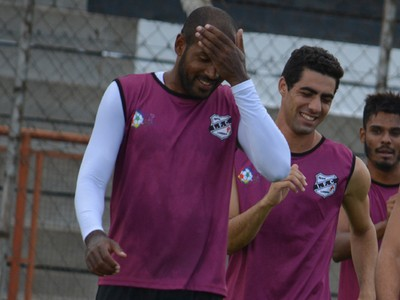 Independente-SP treino Limeira (Foto: Murilo Borges)