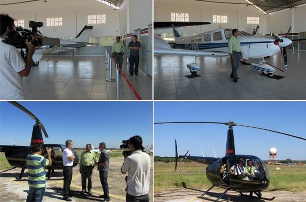PITV 1ª Edição convida telespectador para ver Teresina a bordo de um helicóptero  (Foto: Katylenin França/TV Clube)