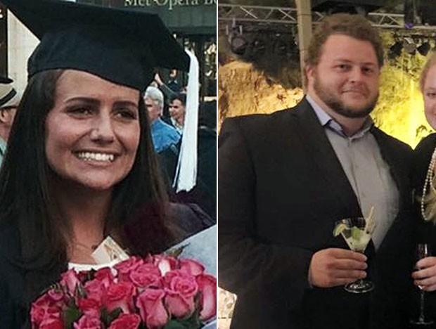 Irmãos holandeses Sascha e Alexander Pinczowski estão entre os mortos nos atentados no aeroporto internacional de Zaventem (Foto: Courtesy of the family/AP)
