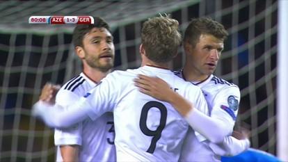 Os gols de Azerbaijão 1 x 4 Alemanha pelas Eliminatórias da Copa de 2018