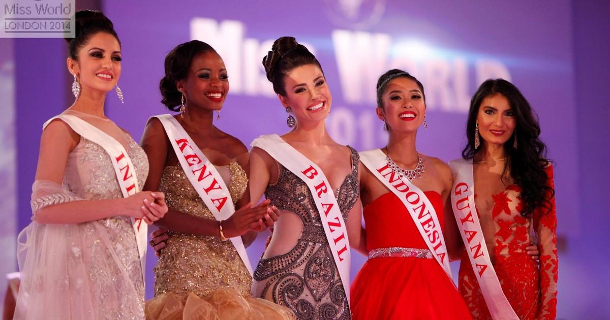 'Inesquecível', diz brasileira que ficou no Top 10 do Miss Mundo em ... - Globo.com