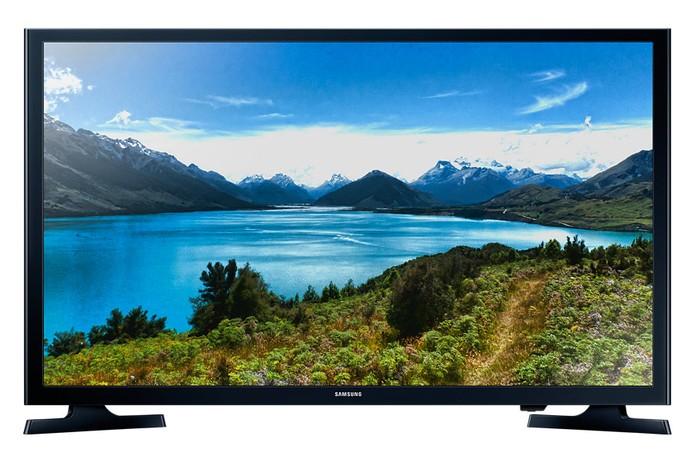 Smart TV UN32J4300AGXZD HD é um dos modelos mais baratinhos da Samsung no Brasil (Foto: Divulgação/Samsung)
