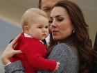 William, Kate e príncipe George encerram viagem à Oceania