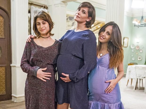 Bárbara (Luisa Arraes ), Giovana (Deborah Secco) e Dorothy (Luana Martau) (Foto: João Miguel Júnior /  TV Globo)