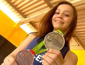heloísa martinez luta olímpica jogos escolares da juventude (Foto: Reprodução/Inter TV Cabugi)