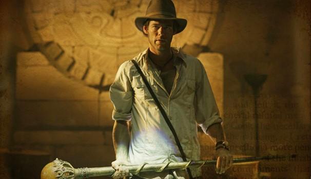 Jack (Ivan Sergei) enfrenta vilões em missões muito perigosas, atrás dos melhores artefatos (Foto: Divulgação/Reprodução)