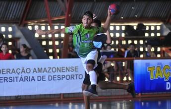 Taça Vila Olímpica de handebol começa com mais de 70 gols, no AM