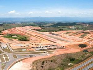 Com atraso no cronograma, Aerovale deve ser inaugurado até junho (Foto: Divulgação/Aerovale)