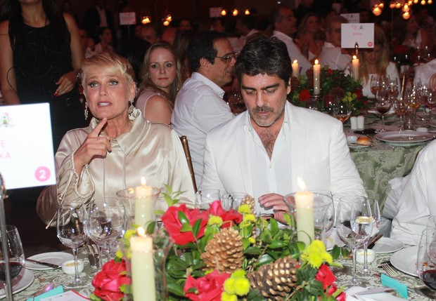 Xuxa e Junno Andrade (Foto: Celso Tavares / EGO)