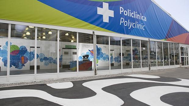 Policlínica (Foto: Reprodução)