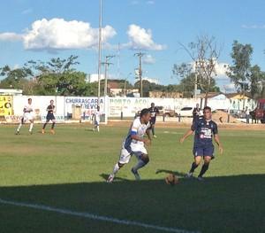 Interporto perde em casa para o Remo por 2 a 1 (Foto: Marcos Martins/GloboEsporte.com)