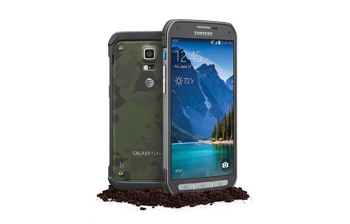 Galaxy S5 Active é uma versão do top da Samsung com materiais mais robustos (Foto: Divulgação/AT&T)