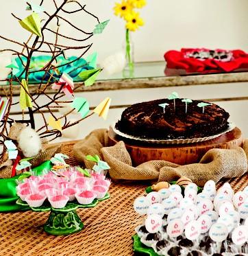 Tema para festa de aniversário_aviões de papel (Foto: Olivian Mioli)