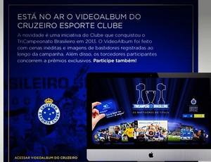 Cruzeiro lança vídeoalbum com imagens exclusivas do tricampeonato (Foto: Reprodução / Instagram do Cruzeiro)