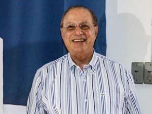 O deputado federal Paulo Maluf (PP-SP) votou na manhã deste domingo (28) na Faculdade de Engenharia de São Paulo, na Zona Sul da capital paulista (Foto: Foto: ArquivoWilliam Volcov/Estadão Conteúdo)