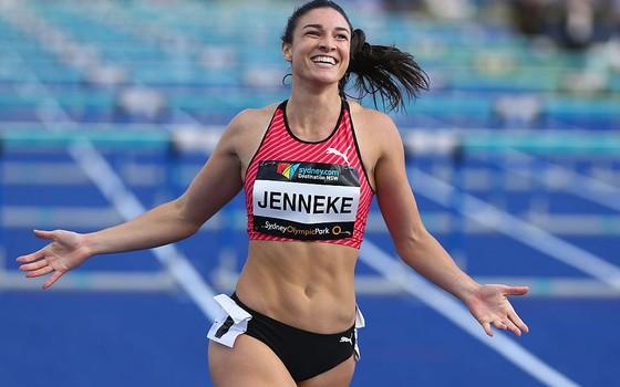 A atleta  Michelle Jenneke, da Austrália (Foto:  Jason McCawley/Getty Images)