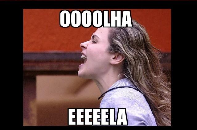 O bordão da Ana Paula, do BBB16, ganhou a web e caiu na boca do povo (Foto: Reprodução)