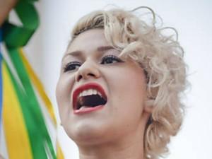 Ativista Sara Winter do Femen Brasil (Foto: Arquivo Pessoal)