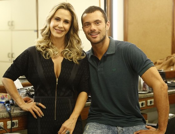 Guilhermina Guinle e Adriano Toloza na época em que faziam Verdades secretas  (Foto: Gshow)