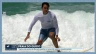 Trecho da praia do Recreio ganha nome de 'Praia do Guido' em homenagem ao 'Santo Surfista'