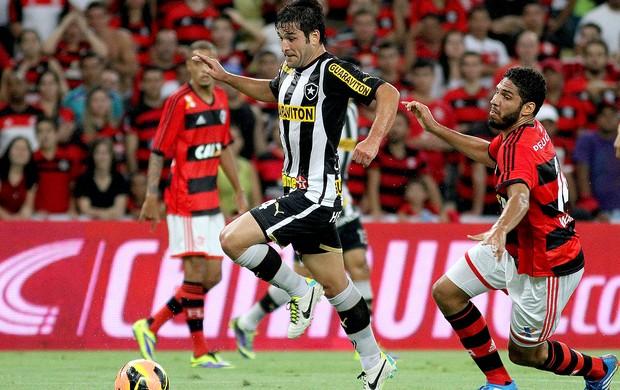 Lodeiro jogo Botafogo e Flamengo Copa do Brasil (Foto: Vitor Silva / SS Press)