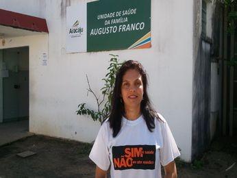 Representante do sindicato comentou sobre Ato Médico (Foto: Flávio Antunes/G1)