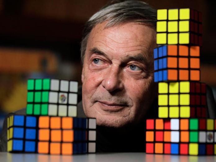 Ern? Rubik criou o Cubo Mágico em 1974 (Foto: Reprodução/HNKC News) (Foto: Ern? Rubik criou o Cubo Mágico em 1974 (Foto: Reprodução/HNKC News))
